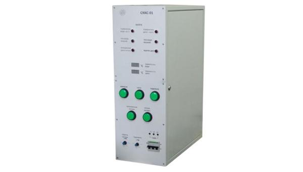 Система керування котлом твердопаливним СККС-01